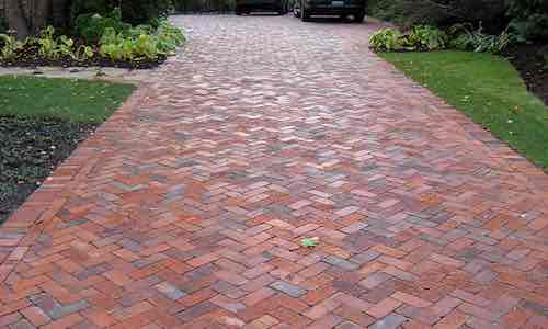 brick driveways Warsash