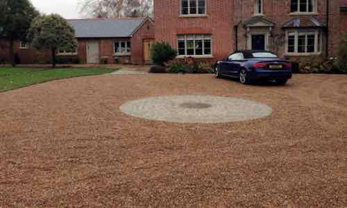 driveway contractors Four Marks